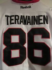NHL Chicago Blackhawks Teravainen Reebok Jersey w/2016 Stanley Cup Patch Sz 54