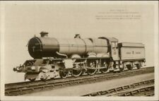 RR Train King George V Most Powerful Locomotive in Britain Real Photo Postcard