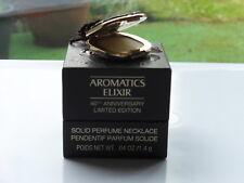 Nuevo Clinique Aromatics Elixir 40th Anniversary SOLID PERFUME NECKLACE