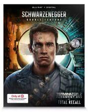Terminator 2 & Total Recall Steelbook w/Lenticular Slipcase (Blu-Ray+Digital)