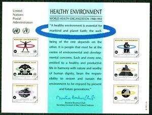 UNITED NATIONS-1993- HEALTHY ENVIRONMENT - VF**