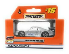 Matchbox MBX Superfast 1999 No 16 Porsche 911 GT1 silver german exclusiv model