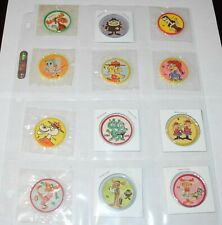 1964 Rocky & Bullwinkle Old London Krun-Chee Set (60) Coins Pins Unopened Cellos