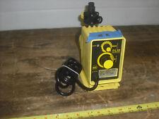 Lmi Roytronic Series P Metering Pump, 0.42 Gph @ 110 Psi, 115 Vac