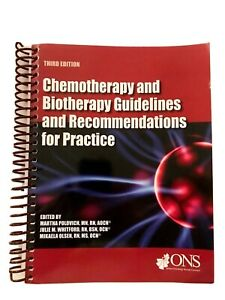 CHEMOTHERAPY & BIOTHERAPY GUIDELINES & RECOMMENDATIONS FOR PRACTICE Textbook