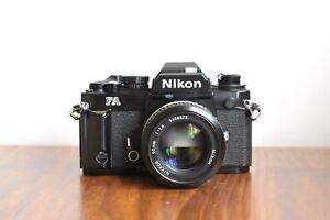 NIKON FA   Promotional Unit 'Red D Serial number'   w/ Nikkor 50mm f/1.4 Lens