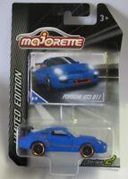Majorette DieCast Modellauto 1:59 Porsche GT3 911 blau Limited Edition