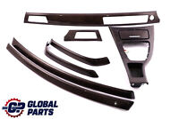 BMW 3 Series E90 E91 LCI Set Trim Dashboard Strip Bamboo Woodgrain Anthracite