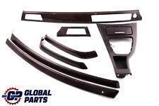 BMW 3 Series E90 E91 LCI Set Trim Dashboard Strip Bamboo Woodgrain Anthracite