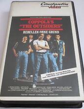 The Outsiders - VHS/Drama/Patrick Swayze/Tom Cruise/Matt Dillon/Constantin