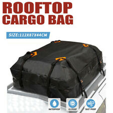 44*34*17in Waterproof Car Roof Top Rack Carrier Cargo Bag Luggage Storage Cube