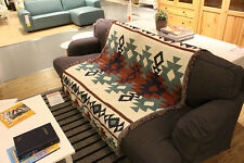 Tribal Ethnic Geometric Aztec Navajo Blanket Throw Rugs Sofa Art Decor Bohemian