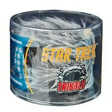 More details for qmx star trek tribble platinum plush soft toy in original box 2015 collectable