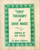 Tops Treasury of Dove Bird Animal Magic Compiled by Neil Foster - Abbott 1961