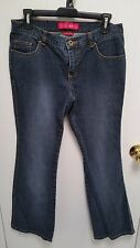 Women's Dark Denim Jeans Size 7 Junior - GLO