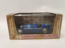 """Brumm 1:43 R42 1933 Bugatti """"Tipo 59"""" 230 HP in French Blue RN 3"""