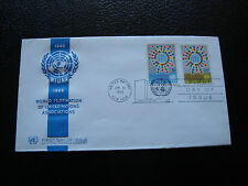 NATIONS UNIS (new-york) - enveloppe 1er jour 31/1/1966 (cy28) united nations(A)