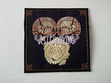 PUNK ROCK HEAVY METAL MUSIC SEW ON / IRON ON PATCH:- AS I LAY DYING (a) SKULLS