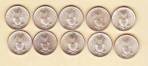 US Philippines 1944  TWENTY Centavos ( 20 cent ) X 10 coin all Uncirculated/BU