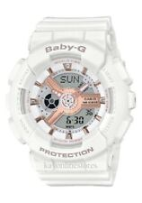 Brand New Casio G-Shock Baby-G BA110-LB White Gold Digital Watch MSRP: $120.00