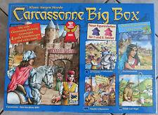 "NEU & OVP: CARCASSONNE BIG BOX! Material für  7./8. Spieler + Erw.. ""DER FLUSS""!"