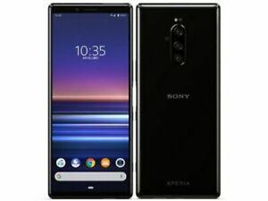 SONY XPERIA 1 Android Phone Unlocked Japan ver. Black