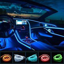 LED Auto Car Interior Decor Atmosphere Wire Strip Light Lamp Accessories 12V