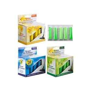 21pk Vacuum Scented Air Freshners Hoover Dust Bags Filters Cleaner Freshener Vac