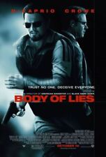BODY OF LIES -2008 orig 27x40 D/S movie poster- LEONARDO DICAPRIO, RUSSELL CROWE