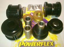 4x Pu-Buchsen Powerflex Alu- Querlenker VA BMW E32 E34 PFF5-601blk +PFF5-620blk