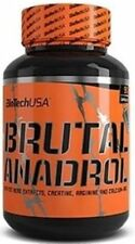 Biotech USA brutal ANADROL 90 Capsules Testosterone Booster AAKG + Bonus