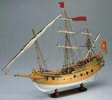 "Beautiful, brand new wooden model ship kit by Amati: the ""Venetian Polacca"""