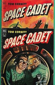2 Tom Corbett Space Cadet #421 (#3) #4 Dell 1952 TV Radio 6.5 McWilliams Art