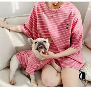 Summer Pet T-shirt Clothes for French Bulldog Chihuahua Clothes Cute Tshirt