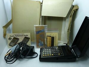 Vintage Texas Instruments Programmable TI 59 Calculator in Box