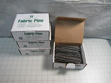 4 Boxes (300 Pins Total) Master Gardner Fabric Pins Professional Steel Grade NEW