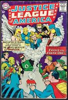JUSTICE LEAGUE OF AMERICA  21  GD/VG/3.0  -  Crisis on Earth 1!