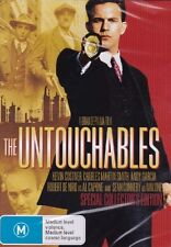 The Untouchables DVD Region 4 Kevin Costner Sean Connery Garcia