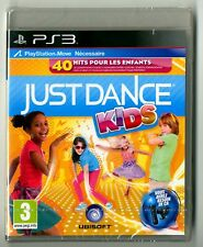 JEU PS3 ★ JUST DANCE KIDS ★ NEUF SOUS BLISTER ★ SONY PLAYSTATION 3
