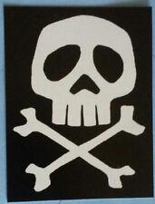 STICKER - Captain Harlock -Vinyl HORROR punk rock - Misfits Samhain Glenn Danzig