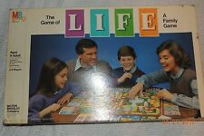 VINTAGE 1985 THE GAME of LIFE Family Board Game MILTON BRADLEY 100% COMPLETE EUC