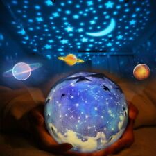Universe Cosmos Starry Sky Light LED Projector Rotating Lamp Star Night Lights