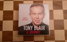 A Journey Tony Blair Read by the Author 2010 13 x CD's CD AUDIO abridged