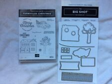 Stampin Up! Farmhouse Christmas~photopolymer stamps & Farmhouse Framelits Dies