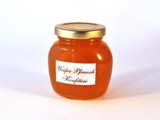 Weißer Pfirsich-Konfitüre - 250 g -