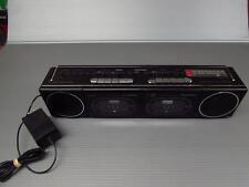 Vintage Dual Cassette Panasonic AM/FM Boom Box Model RX-11