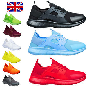 Mens Fitness Sport & Running Mesh Trainers Size 6 to 11 UK CASUAL WORK LEISURE