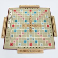 """Vintage 1970's Scrabble Board Game, Good Condition, Missing a """"W""""."""