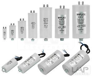 Condensateur de Démarrage Condensateur Du Moteur MIFLEX MKSP-5P 1µF-100µF 450V