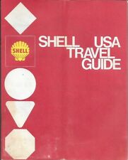 1971 SHELL OIL COMPANY Road Map Atlas UNITED STATES Gas Pumps Motels Donnelley